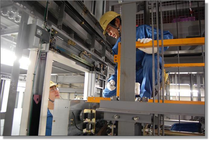 Lắp đặt thang máy là một khâu quan trọng, quyết định trực tiếp đến chất lượng sản phẩm