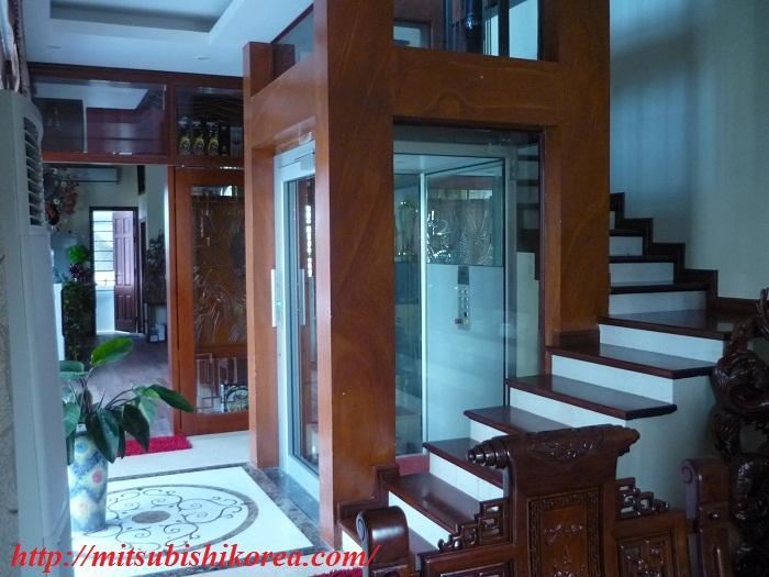 Thangmáy gia đình tôn lên vẻ sang trọng và thanh lịch cho ngôi nhà của bạn.